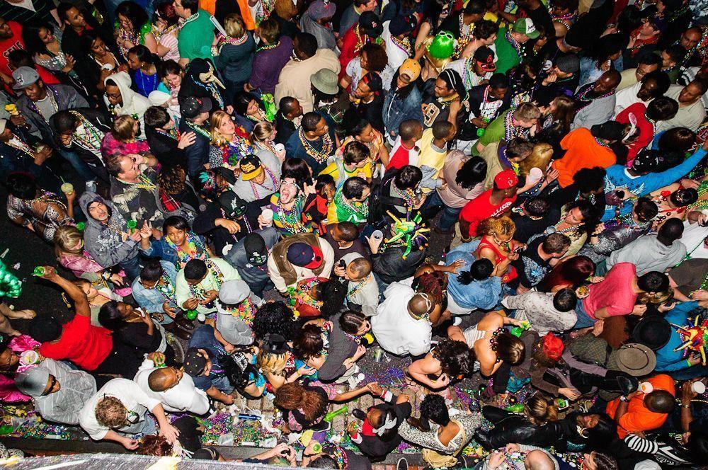 © Craig Stanfill Flickr: Gedrängel in den Strassen von New Orleans