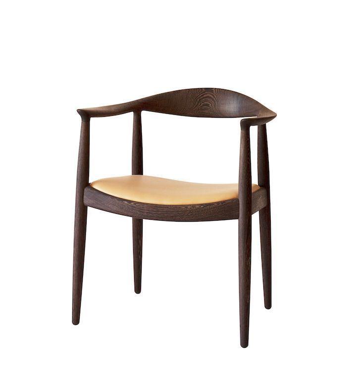 © PP Møbler: Der runde Stuhl