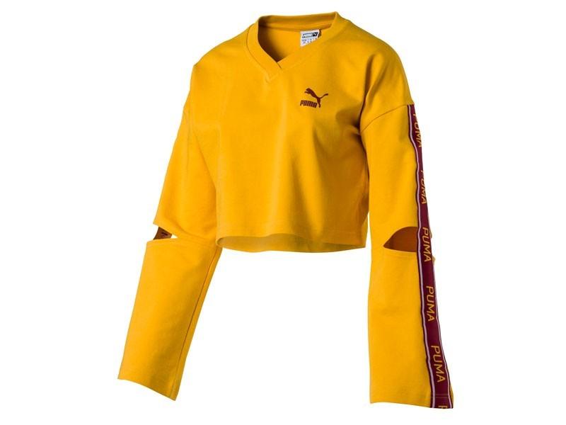 f384c384e3 Evolution Women's Cropped V-Neck Sweater   Brandoo