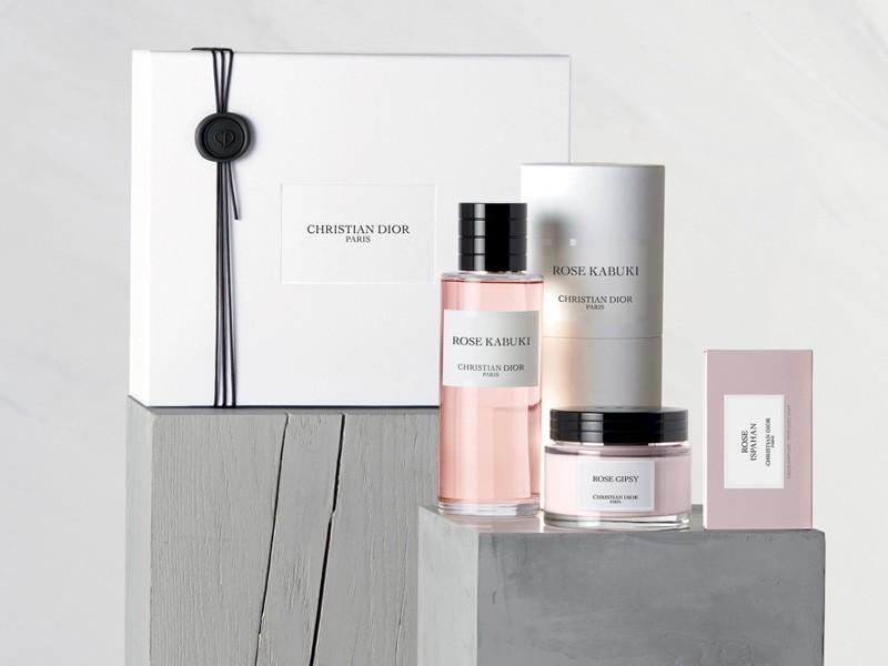 Dior Presents The New Rose Kabuki Fragrances Brandoo