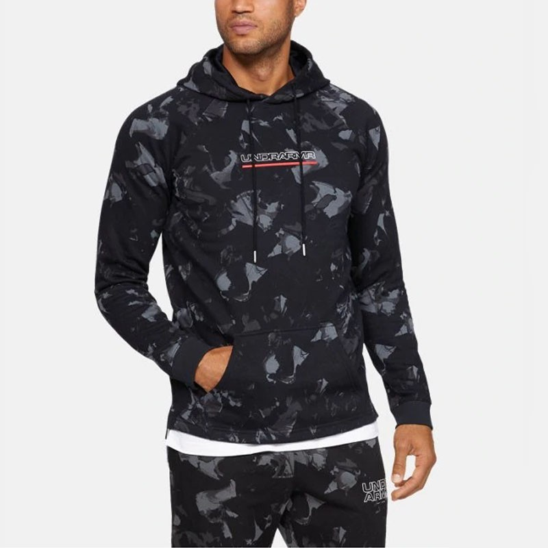c76954f091684 Under Armour presents the Men s UA Baseline Fleece Graphic Hoodie ...