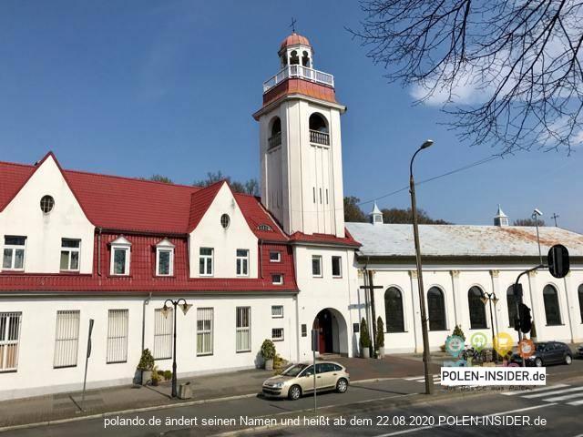 Kirche der Allerheiligsten Jungfrau Maria der Königin Polens in Słubice / Schützenhaus