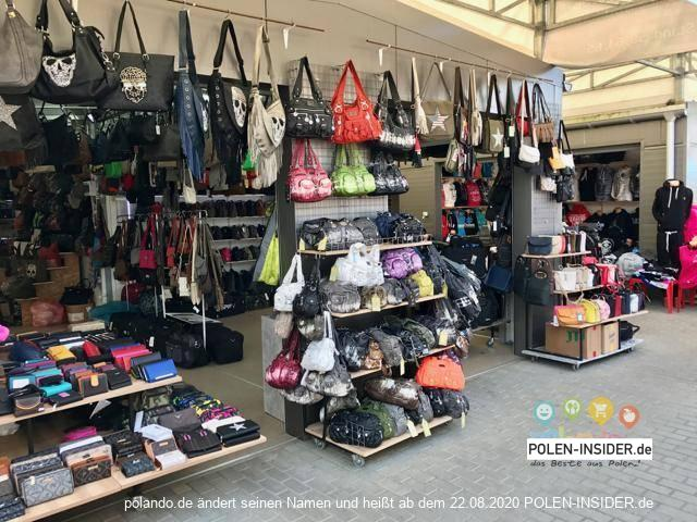 Der Basar auch bekannt als Polenmarkt in Slubice