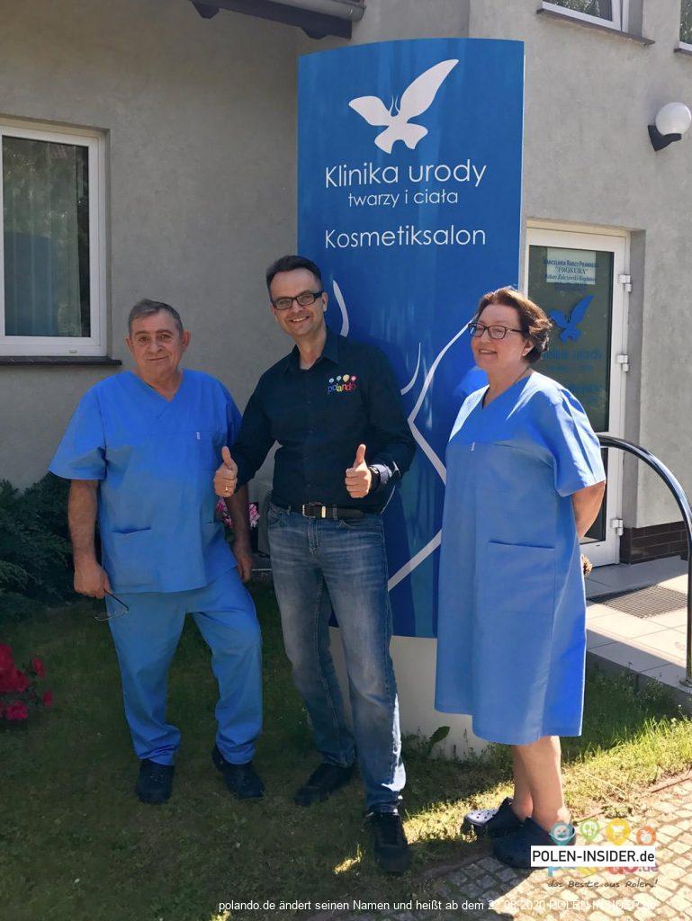 Die Partner des POLANDO Fiats – Die plastische Chirurgie Brańscy in Slubice