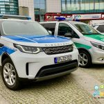 Sechs neue Streifenfahrzeuge für den Deutsch-Polnischen Grenzschutz
