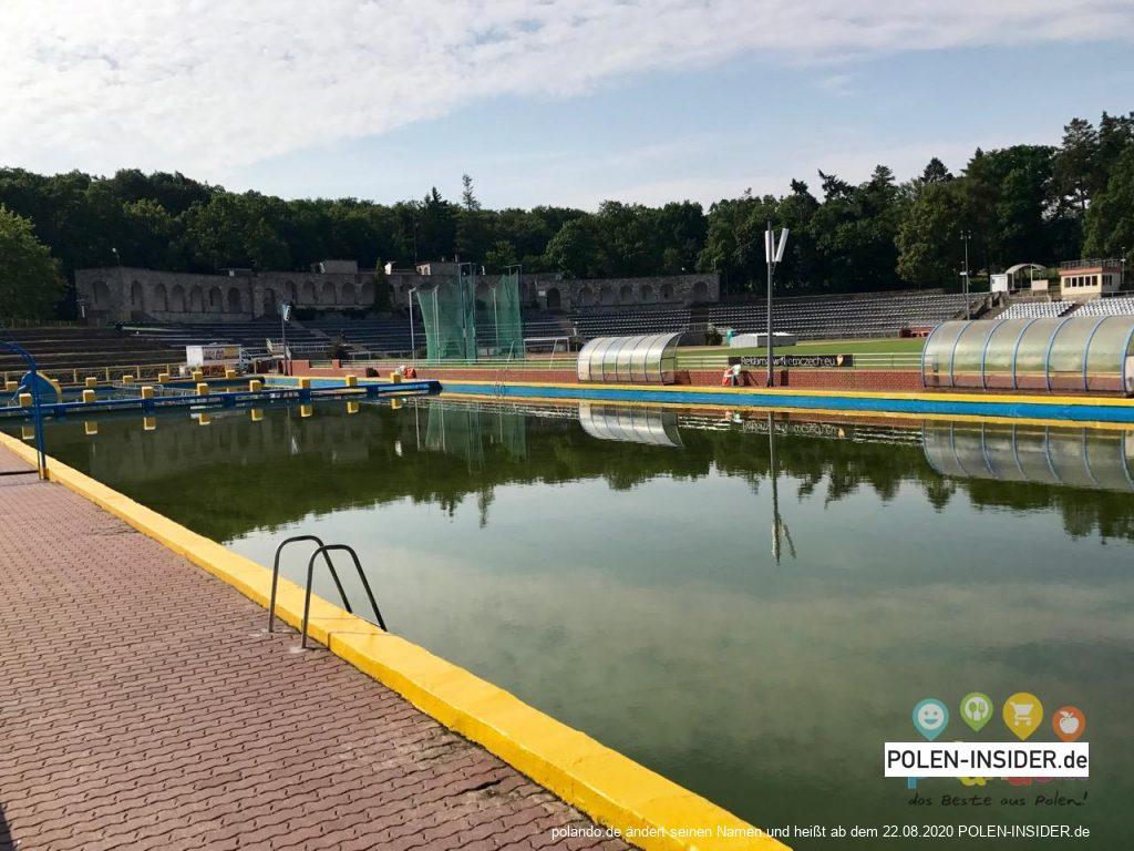 Schwimmbad im Ostmarkstadion von Słubice