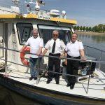 Die Crew des Zefir rettete zwei Touristinnen vor dem Ertrinken