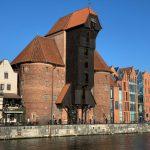 Das Krantor in Gdańsk (Danzig) - der größte Kran dieser Art in Europa