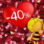 Valentinstag im Freizeitpark Majaland in Polen: 40% Rabatt