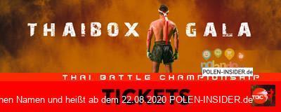 Die erste internationale Thaibox Gala in Slubice