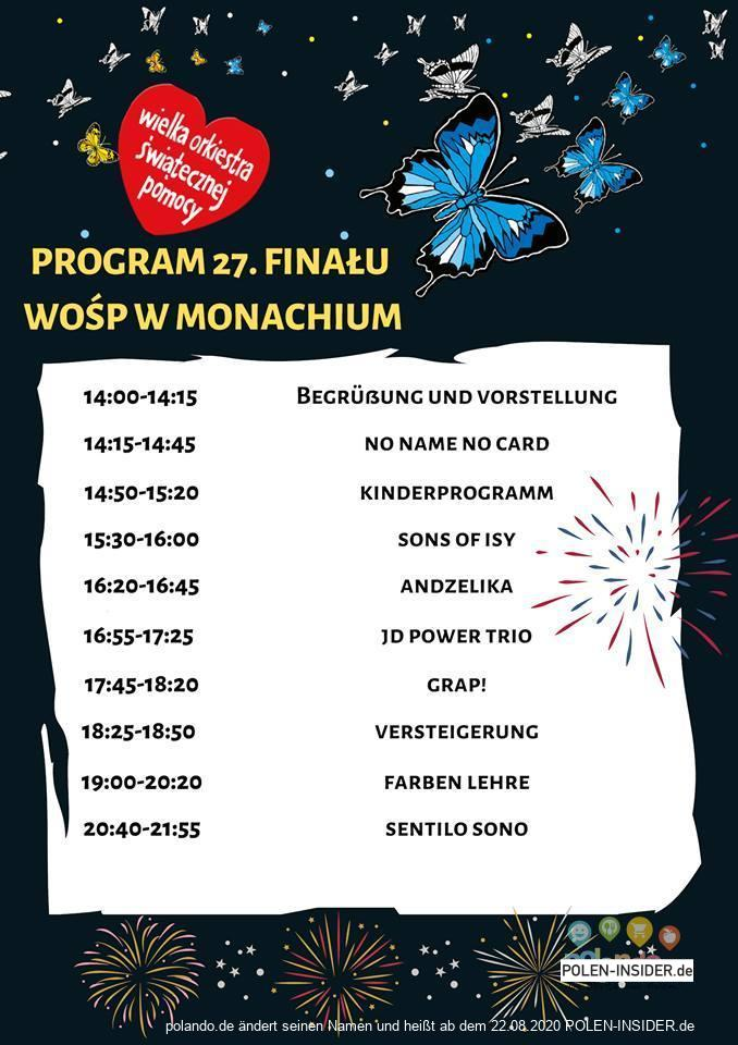 Das 27. Finale des WOSP in Deutschland