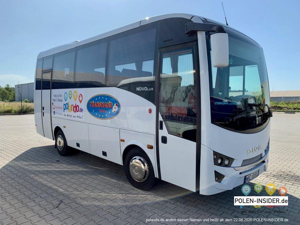 Mit dem Bus nach Majaland – wir starten regelmäßige Busverbindung