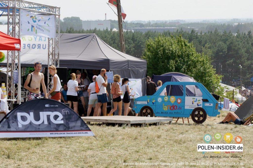 Doppelstadt beim Pol'and'Rock Festival in Küstrin