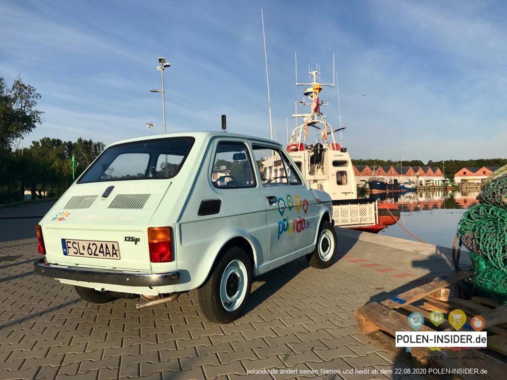 Urlaub in Dievenow (Dziwnów) an der Ostsee in Polen