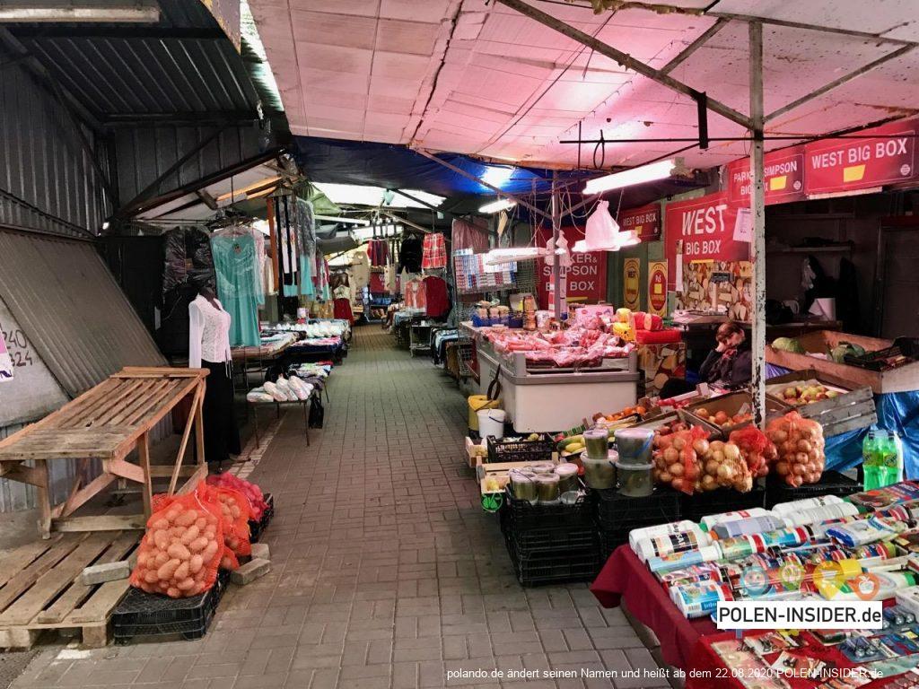 Drei Polenmärkte mit dem POLANDO Fiat auf einen Streich