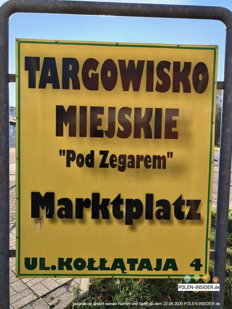 Einkaufen in Swinemünde – Polenmarkt Übersicht