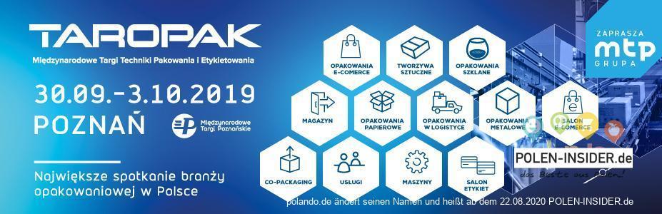 TAROPAK – die wichtigste Fachmesse der Verpackungsindustrie in Polen
