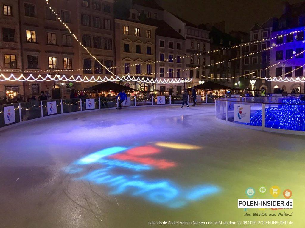 Warschau zur Weihnachtszeit erleben