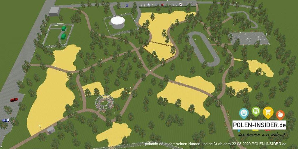 In Słubice wird ein Park für rund 1,42 Millionen Euro entstehen