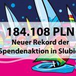 Rund 44 Tsd. Euro haben die Słubicer bei der gestrigen Wohltätigkeitsaktion gesammelt