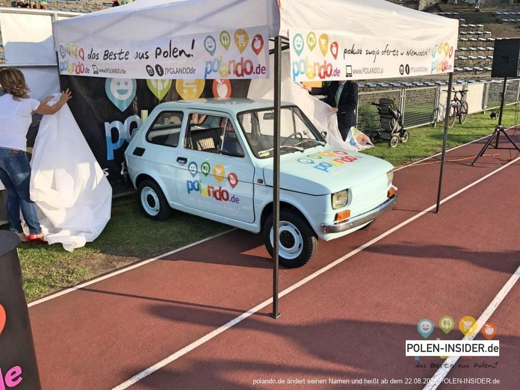 Wir machen mit! Eine Spritztour mit POLANDO Fiat
