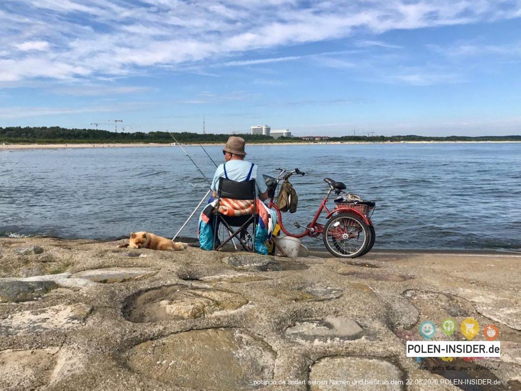 Swinemünde an der polnischen Ostseeküste