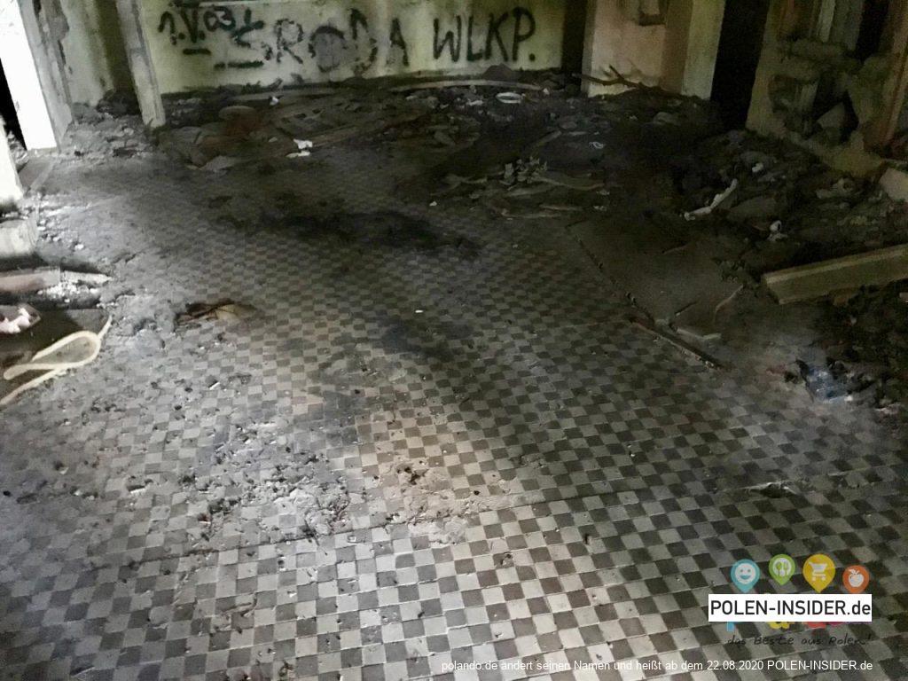 Pobierowo: Das Haus der Eva Braun
