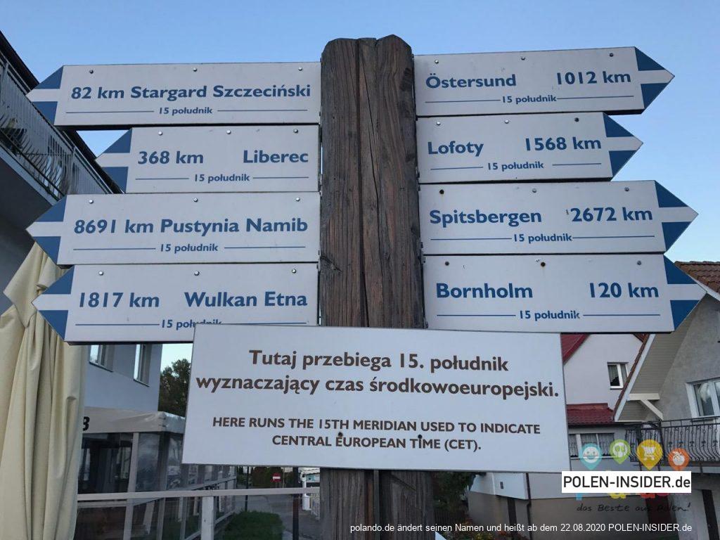 Sehenswürdigkeiten in Trzęsacz / Hoff an der Ostsee