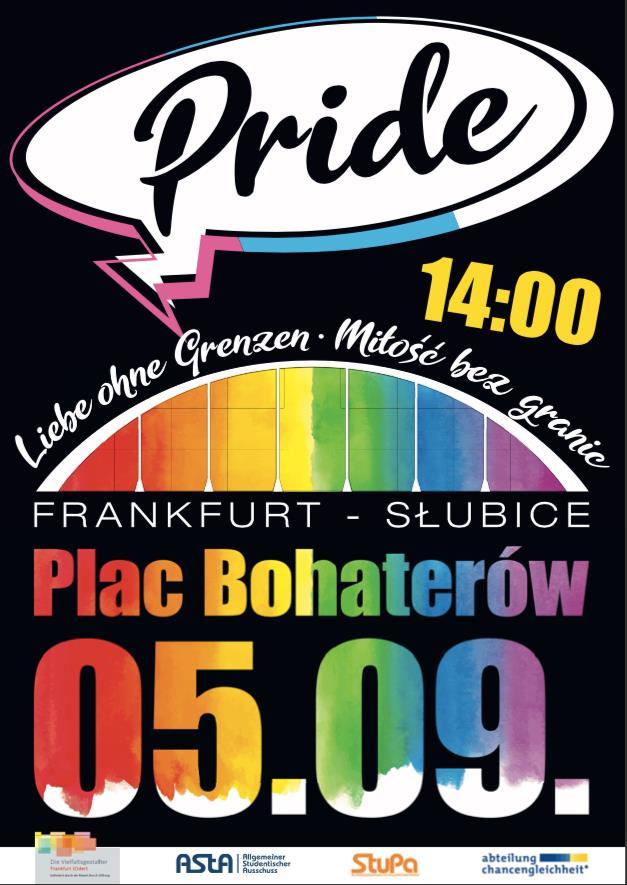 Erster Frankfurt-Słubice-PRIDE und zwei Gegendemos dieses Wochenende in der Doppelstadt