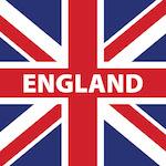 Angol zászló design egyedi szublimált textil méteráruhoz