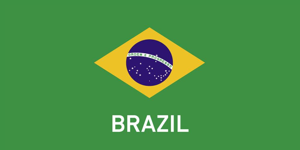 Brazil zászló