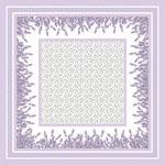Levendula 1 design egyedi szublimált textil méteráruhoz
