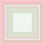 Pöttyös csíkos design egyedi szublimált textil méteráruhoz