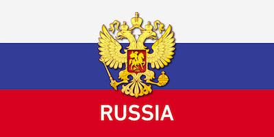 Orosz zászló design egyedi szublimált textil méteráruhoz