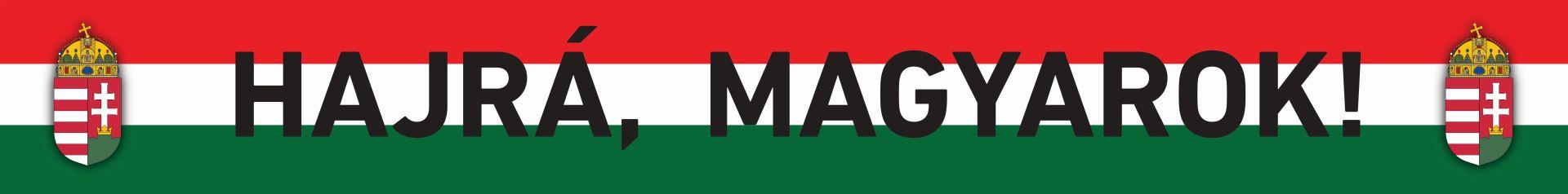 Hajrá magyarok sál