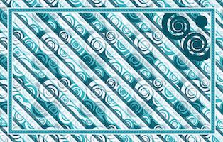 Csigás design egyedi szublimált textil méteráruhoz