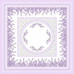Levendula 2 design egyedi szublimált textil méteráruhoz