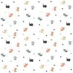 Pajkos design egyedi szublimált textil méteráruhoz