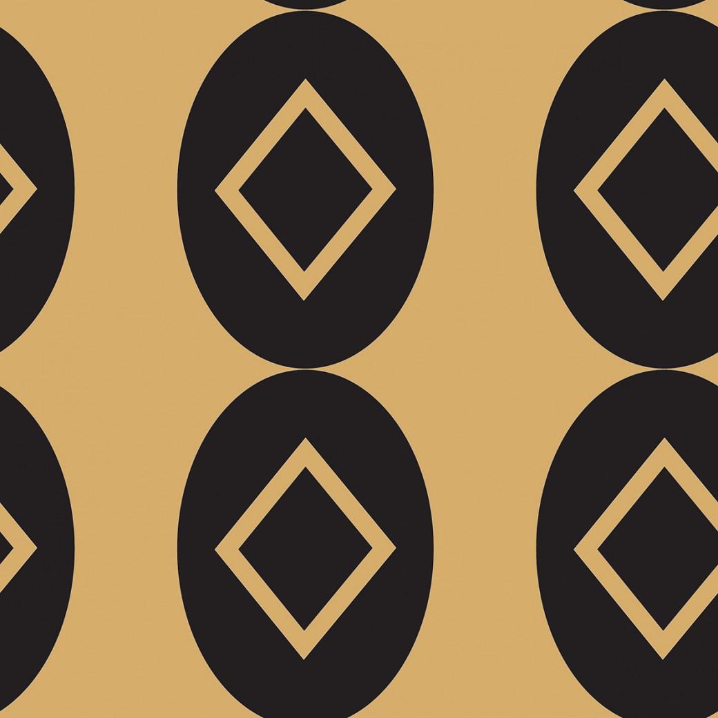 Egyedi hátizsák art deco arany mintával - Pompoint egyedi méteráru ... 1649634f1e