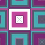 Színes négyzetek szürke alapon design egyedi szublimált textil méteráruhoz
