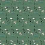 Mezőgazdaság design egyedi szublimált textil méteráruhoz