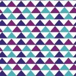Színes háromszögek design egyedi szublimált textil méteráruhoz