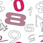 Pink számok design egyedi szublimált textil méteráruhoz