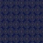 Arany körök kék alapon design egyedi szublimált textil méteráruhoz