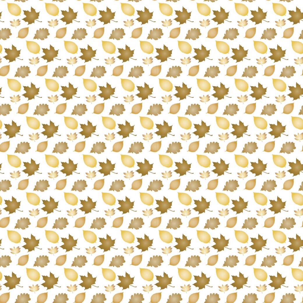Őszi levelek design egyedi szublimált textil méteráruhoz