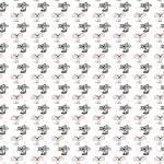 Cicák design egyedi szublimált textil méteráruhoz