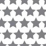 Szürke csillag design egyedi szublimált textil méteráruhoz