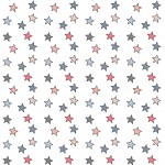 Színes csillagok 1 design egyedi szublimált textil méteráruhoz