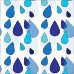 Esőcseppek design egyedi szublimált textil méteráruhoz