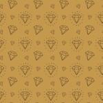 Csillogós gyémánt design egyedi szublimált textil méteráruhoz